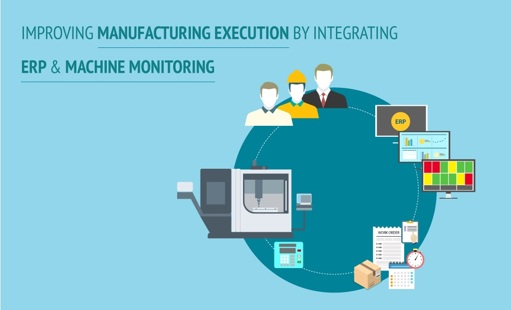 Improving Manufacturing Execution by integrating ERP & Machine Monitoring