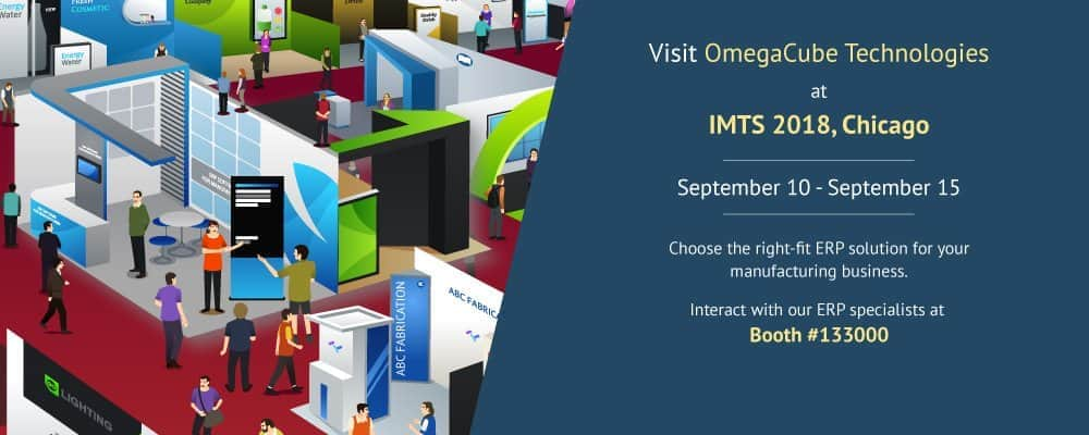 OmegaCube Technologies at IMTS 2018 Tradeshow Event