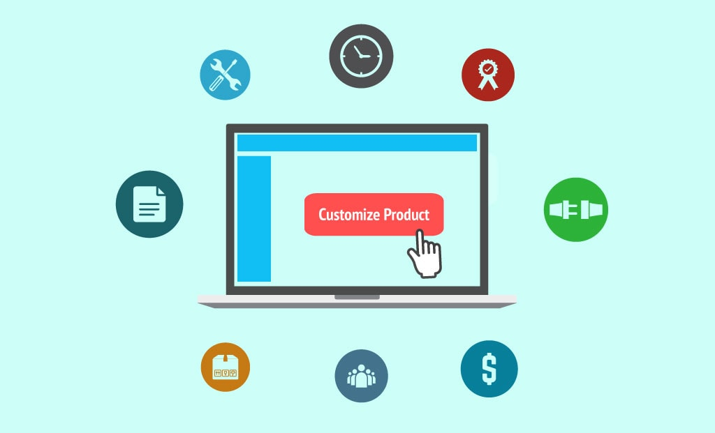 How does an ERP's Product Configurator save time and cost for Manufacturers?
