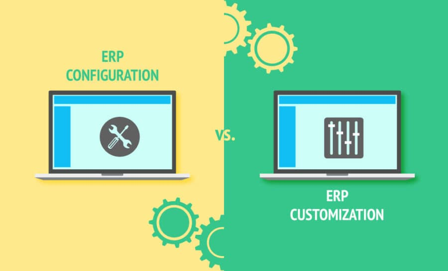 Choose between ERP Customization and ERP Configuration